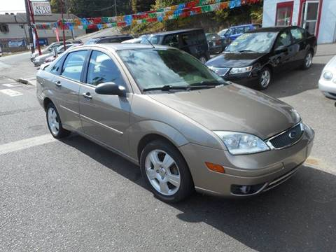 2005 Ford Focus for sale at Ricciardi Auto Sales in Waterbury CT
