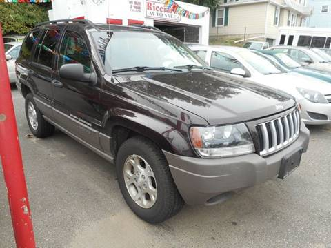 2004 Jeep Grand Cherokee for sale at Ricciardi Auto Sales in Waterbury CT