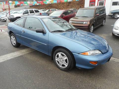 1998 Chevrolet Cavalier for sale at Ricciardi Auto Sales in Waterbury CT