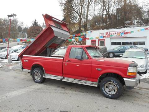 1996 Ford F-150 for sale at Ricciardi Auto Sales in Waterbury CT