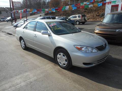 2003 Toyota Camry for sale at Ricciardi Auto Sales in Waterbury CT