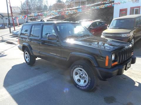 2001 Jeep Cherokee for sale at Ricciardi Auto Sales in Waterbury CT
