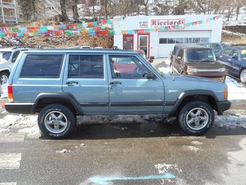 1997 Jeep Cherokee for sale at Ricciardi Auto Sales in Waterbury CT