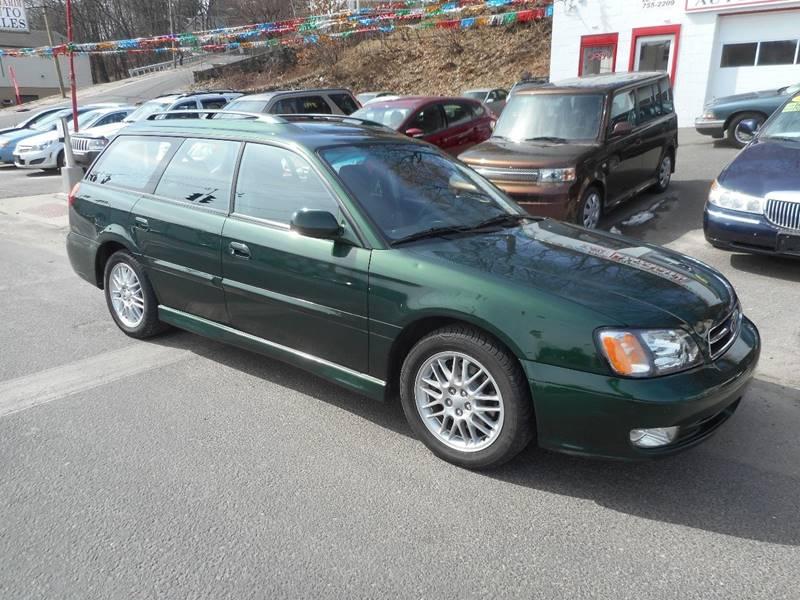 2002 Subaru Legacy for sale at Ricciardi Auto Sales in Waterbury CT