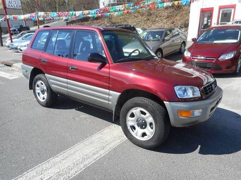 2000 Toyota RAV4 for sale at Ricciardi Auto Sales in Waterbury CT