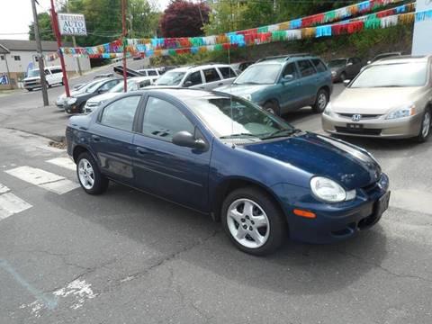 2002 Dodge Neon for sale at Ricciardi Auto Sales in Waterbury CT