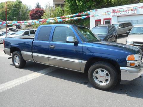 2002 GMC Sierra 1500 for sale at Ricciardi Auto Sales in Waterbury CT