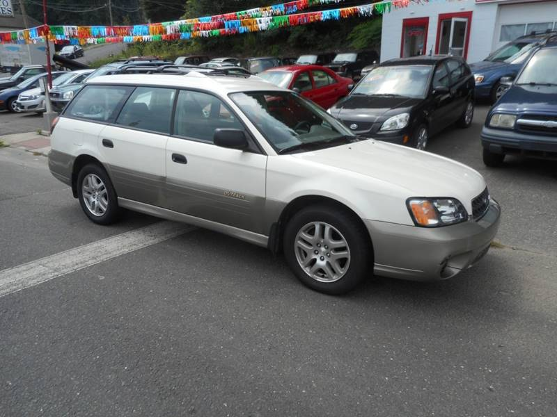 2003 Subaru Outback for sale at Ricciardi Auto Sales in Waterbury CT