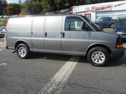 2009 Chevrolet Express Cargo for sale at Ricciardi Auto Sales in Waterbury CT