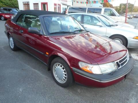 1996 Saab 900 for sale at Ricciardi Auto Sales in Waterbury CT
