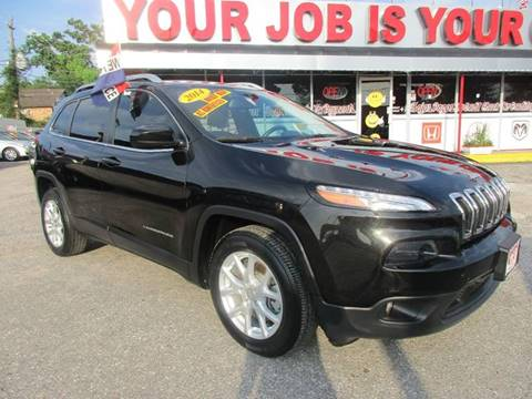 2014 Jeep Cherokee for sale at Giant Auto Mart in Houston TX