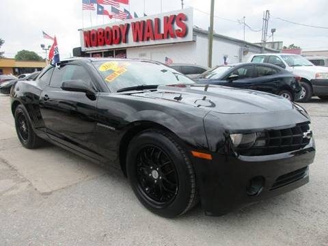 2011 Chevrolet Camaro for sale at Giant Auto Mart in Houston TX
