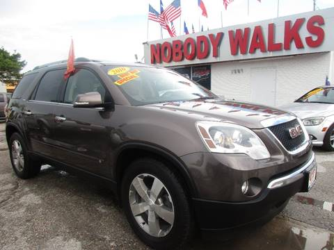 2010 GMC Acadia for sale at Giant Auto Mart in Houston TX