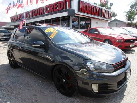 2010 Volkswagen GTI for sale at Giant Auto Mart in Houston TX