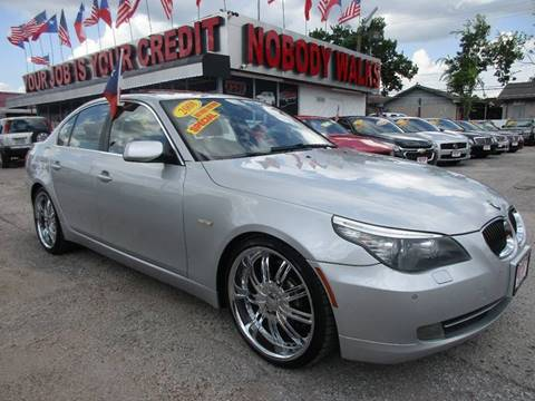 2008 BMW 5 Series for sale at Giant Auto Mart in Houston TX