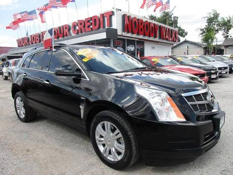 2010 Cadillac SRX for sale at Giant Auto Mart in Houston TX