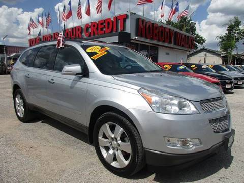 2012 Chevrolet Traverse for sale at Giant Auto Mart in Houston TX