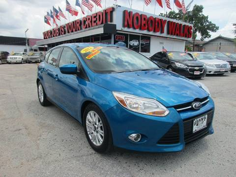 2012 Ford Focus for sale at Giant Auto Mart in Houston TX