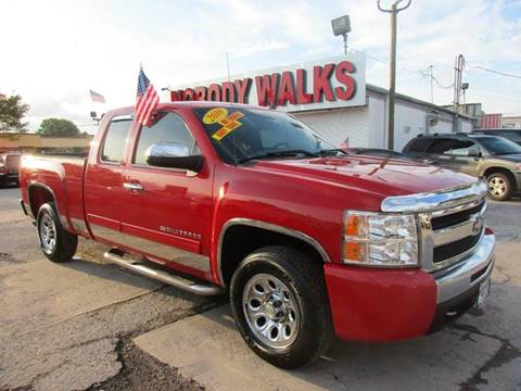 2010 Chevrolet Silverado 1500 for sale at Giant Auto Mart in Houston TX