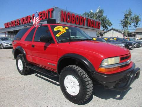 2004 Chevrolet Blazer for sale at Giant Auto Mart in Houston TX