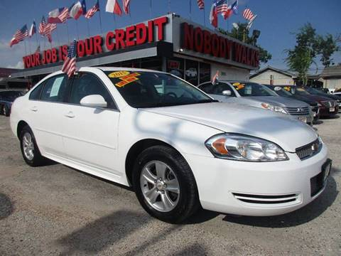 2015 Chevrolet Impala Limited for sale at Giant Auto Mart in Houston TX