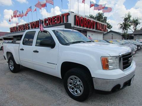2008 GMC Sierra 1500 for sale at Giant Auto Mart in Houston TX