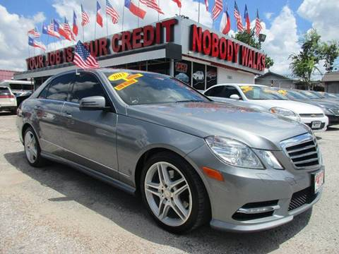 2013 Mercedes-Benz E-Class for sale at Giant Auto Mart in Houston TX