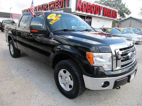 2011 Ford F-150 for sale at Giant Auto Mart in Houston TX