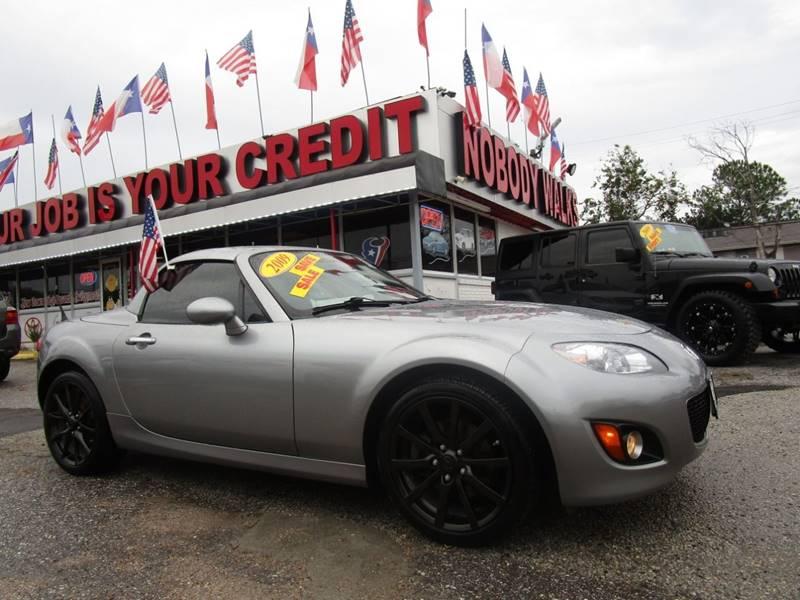 2009 Mazda MX 5 Miata For Sale At Giant Auto Mart In Houston TX