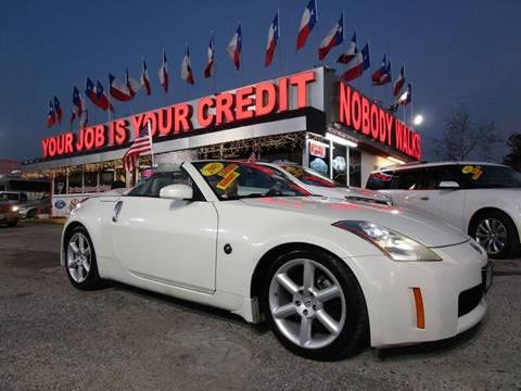 Nissan 350z For Sale In Houston Tx Carsforsale Com