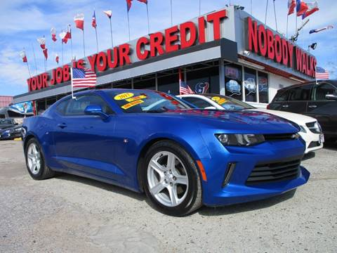2017 Chevrolet Camaro for sale in Houston, TX