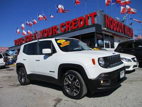2017 Jeep Renegade for sale in Houston, TX