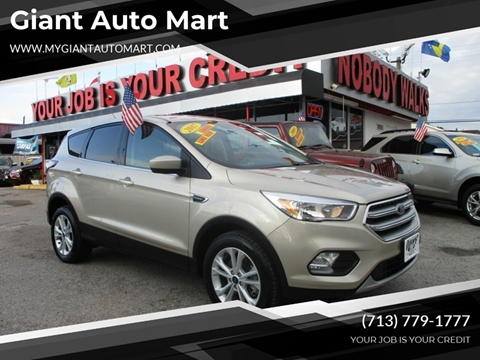 Giant Auto Mart >> Ford Escape For Sale In Houston Tx Giant Auto Mart