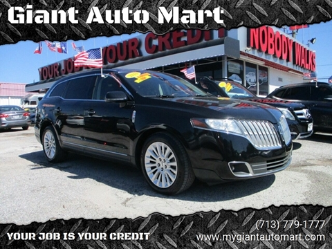 2010 Lincoln MKT for sale in Houston, TX