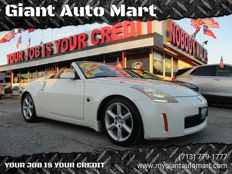 Giant Auto Mart >> 2005 Nissan 350z For Sale In Houston Tx