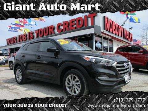 2016 Hyundai Tucson for sale in Houston, TX