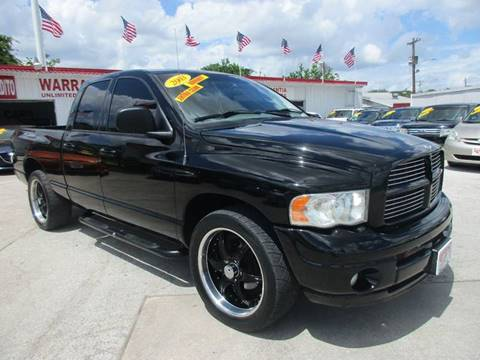 2003 Dodge Ram Pickup 1500 for sale at Giant Auto Mart in Houston TX