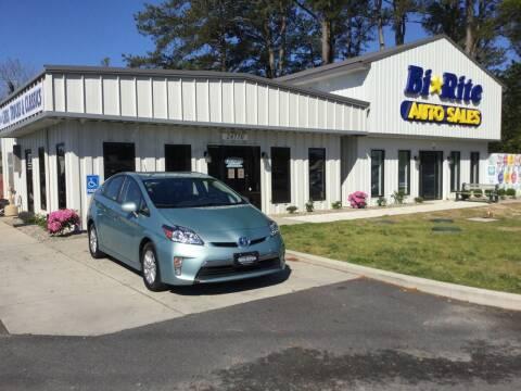 2013 Toyota Prius Plug-in Hybrid for sale at Bi Rite Auto Sales in Seaford DE