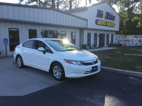2012 Honda Civic for sale at Bi Rite Auto Sales in Seaford DE