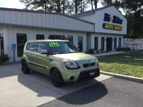 2012 Kia Soul for sale at Bi Rite Auto Sales in Seaford DE