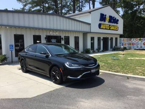 2015 Chrysler 200 for sale at Bi Rite Auto Sales in Seaford DE