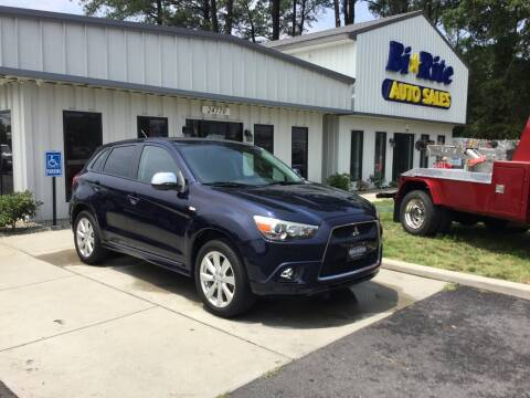 2012 Mitsubishi Outlander Sport for sale at Bi Rite Auto Sales in Seaford DE
