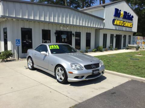 2002 Mercedes-Benz SLK for sale at Bi Rite Auto Sales in Seaford DE