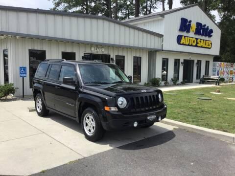 2016 Jeep Patriot for sale at Bi Rite Auto Sales in Seaford DE