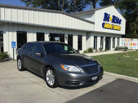 2012 Chrysler 200 for sale at Bi Rite Auto Sales in Seaford DE