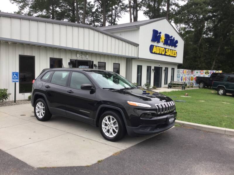 2014 Jeep Cherokee for sale at Bi Rite Auto Sales in Seaford DE