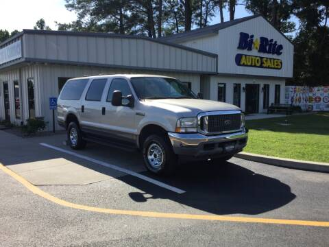 2003 Ford Excursion for sale at Bi Rite Auto Sales in Seaford DE