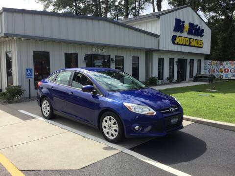 2012 Ford Focus for sale at Bi Rite Auto Sales in Seaford DE