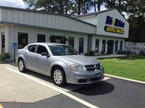 2014 Dodge Avenger for sale at Bi Rite Auto Sales in Seaford DE