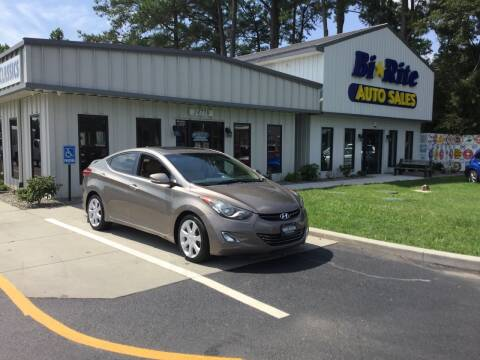 2013 Hyundai Elantra for sale at Bi Rite Auto Sales in Seaford DE